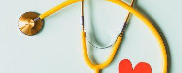 Brightly coloured stethoscope
