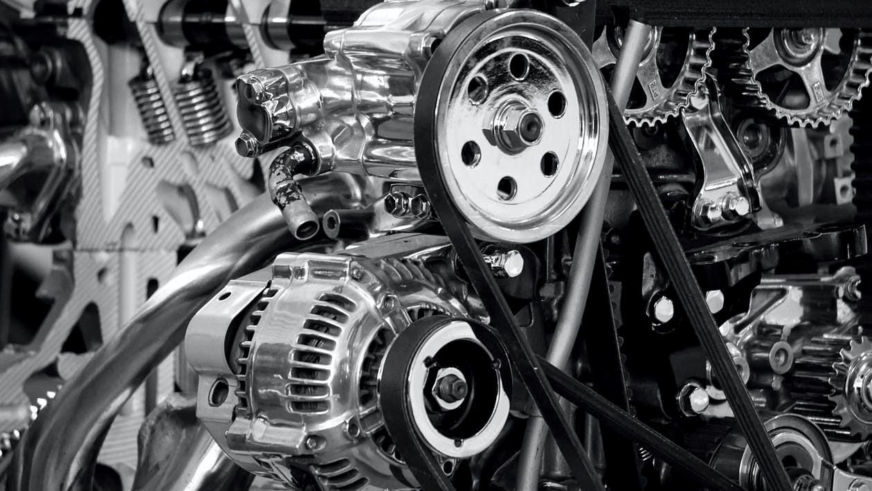 a tuned engine