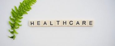 healthcare spelled out on tiles
